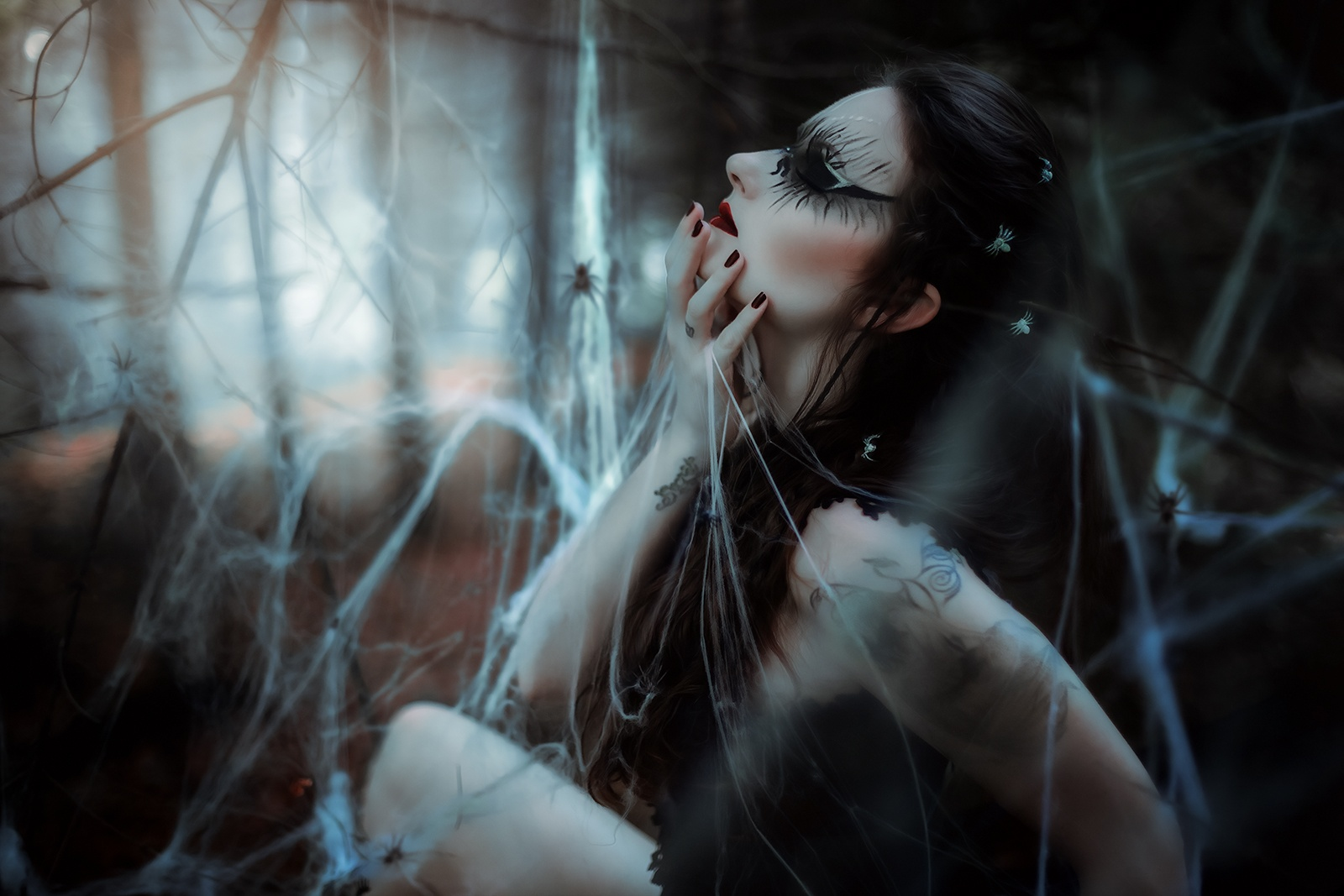 dark fantasy photography