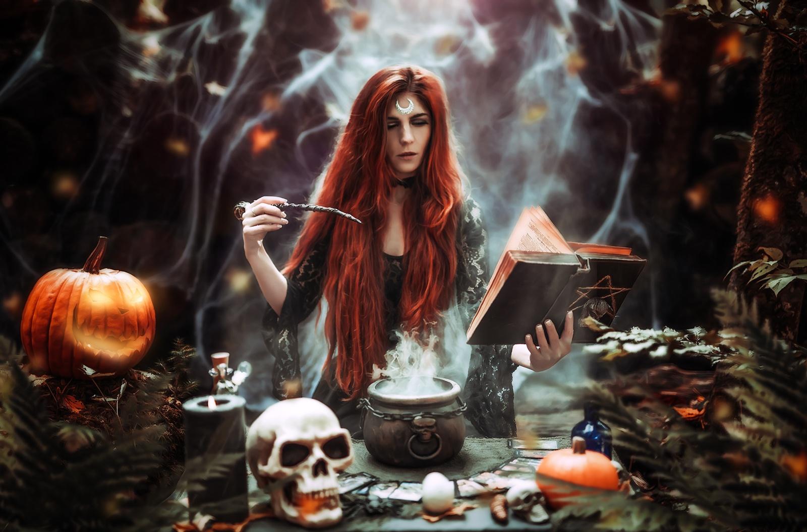 Halloween vorbereitung
