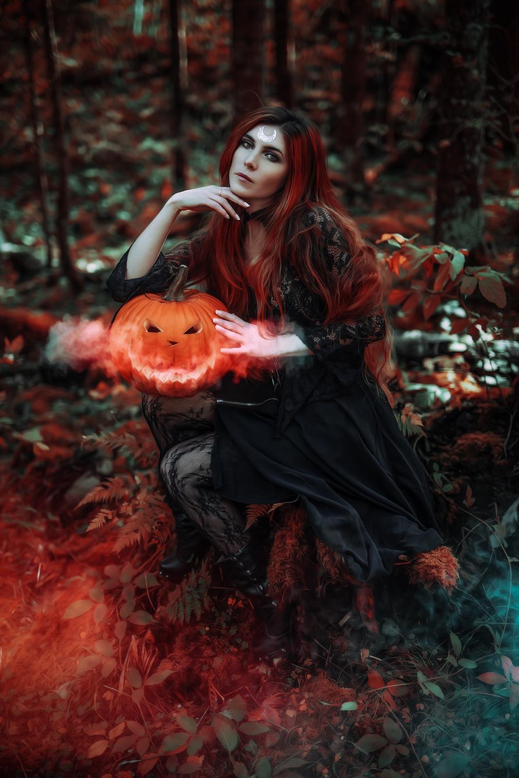 Hexen-Fantasy-Fotoshooting-Schweiz-Halloween