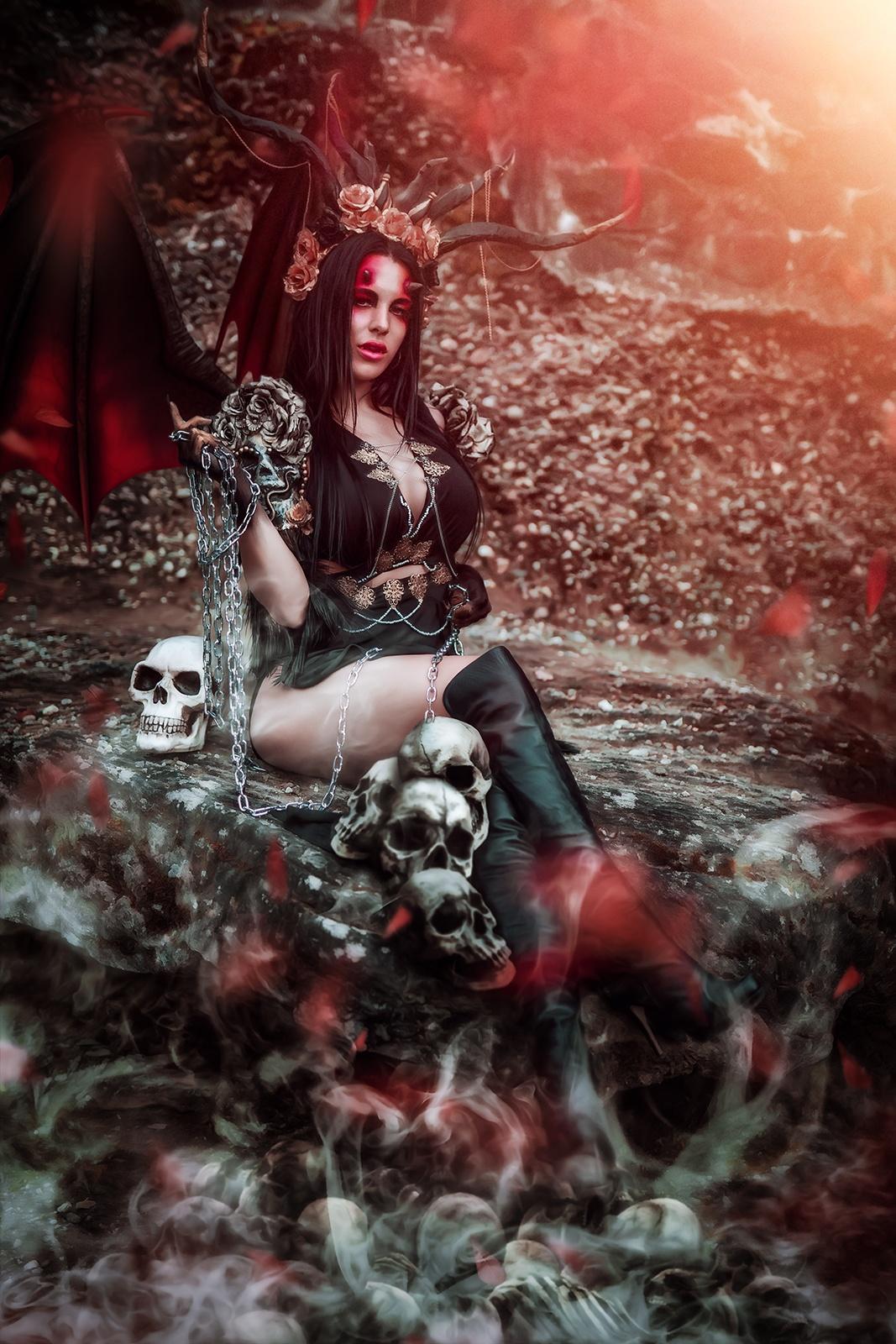 Succubus-Vampir-Fantasy-Fotoshooting-Schweiz-Halloween