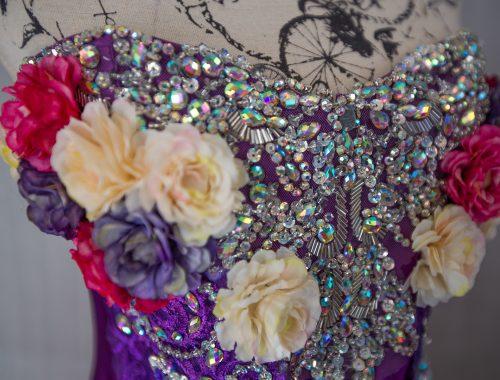 Kleid fantasy lila