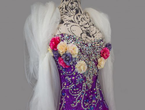 Kleid lila Fantasy
