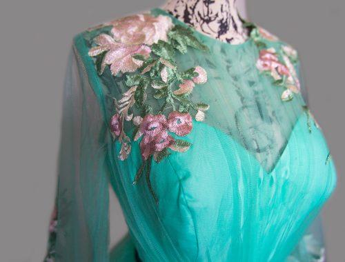 Kleid mint grün fairy