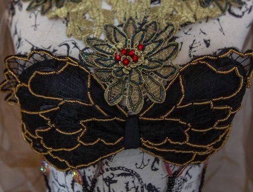 dark fantasy outfit schwarz