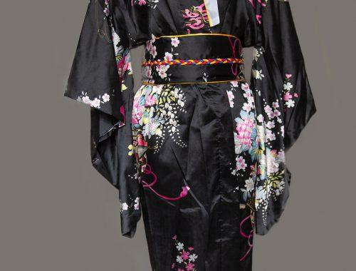Geisha schwarz komplett