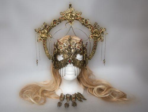 Medusa Kopfschmuck